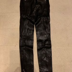 JBrand Moto leather Pants